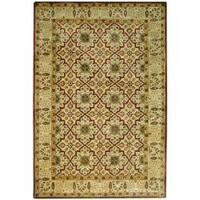 Safavieh Handmade Persian Legend Beige Wool Rug - 6' x 9'