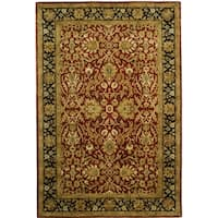 Safavieh Handmade Persian Legend Rust/ Black Wool Rug - 6' x 9'
