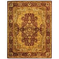 Safavieh Handmade Persian Legend Burgundy Wool Rug (6' x 9')