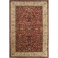 Safavieh Handmade Persian Legend Oriental Red/Ivory Wool Rug - 5' x 8'