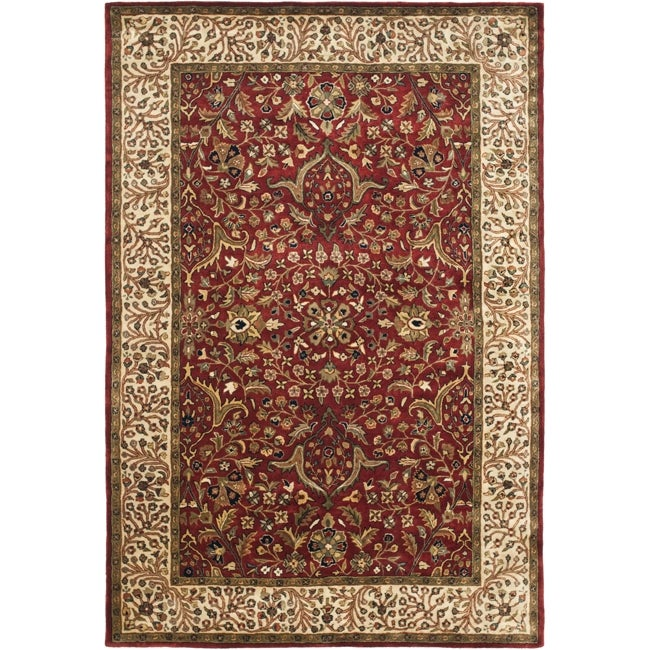 Shop Safavieh Handmade Persian Legend Ivory Rust Wool Area: Shop Safavieh Handmade Persian Legend Red/ Ivory Wool Rug
