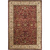 Safavieh Handmade Persian Legend Red/ Ivory Wool Rug - 6' x 9'