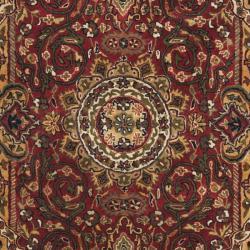 Safavieh Handmade Persian Legend Red/Ivory Wool Oriental Rug (4' x 6') - Thumbnail 2