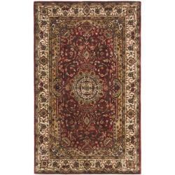 Safavieh Handmade Persian Legend Red/Ivory Wool Oriental Rug - 4' x 6' - Thumbnail 0