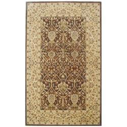 Safavieh Handmade Persian Legend Brown/ Beige Wool Rug (4' x 6')