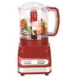 Brentwood Three Cup Red Food Processor - Thumbnail 0