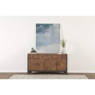 Willow Reclaimed Wood and Iron 70-inch Buffet by Kosas Home