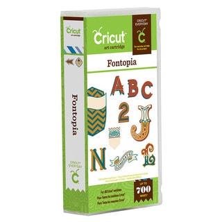 Cricut Fontopia Everyday Cartridge
