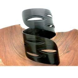 Twisted African Blackwood Cuff (Mozambique) - Thumbnail 1