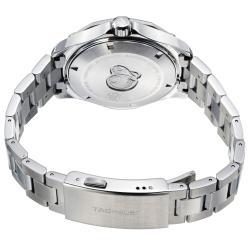 Tag Heuer Men's WAP2010.BA0830 'Aquaracer 5' Black Dial Stainless Steel Watch - Thumbnail 1