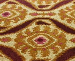 nuLOOM Handmade Ikat Natural Wool Rug (7'6 x 9'6) - Thumbnail 2