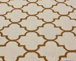 nuLOOM Handmade Moroccan Trellis Natural Wool Rug (5' x 8')