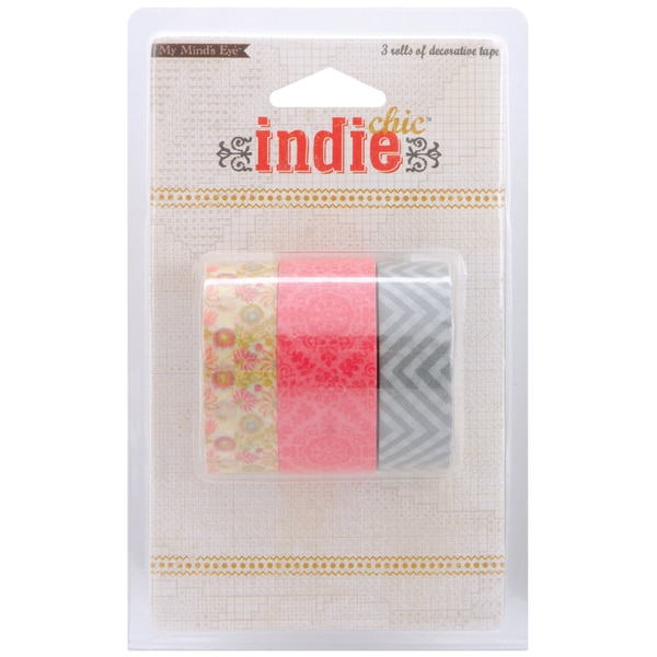 Indie Chic Ginger Decorative Tape-Pictures - 3 Styles
