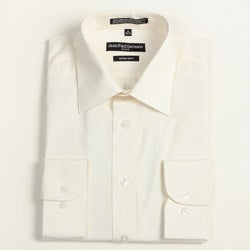 Jean Paul Germain Men's Bone Convertible Cuff Dress Shirt