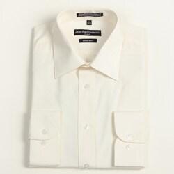 Jean Paul Germain Men's Bone Convertible Cuff Dress Shirt