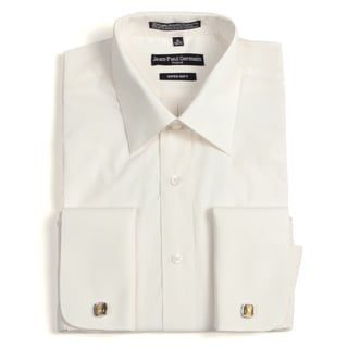 Jean Paul Germain Men's Bone French Cuff Dress Shirt