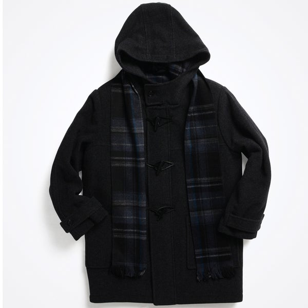 Rothschild Boy's (8-14) Wool Duffle Coat