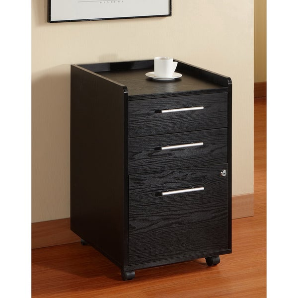 Furniture of America Contemporary Home Office File Cabinet