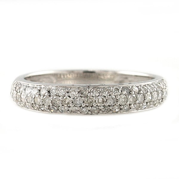 Sterling Silver 1/2ct TDW Diamond Band Ring (H-I, I2-I3)