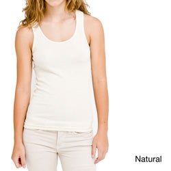American Apparel Women's Organic Cotton Rib Tank