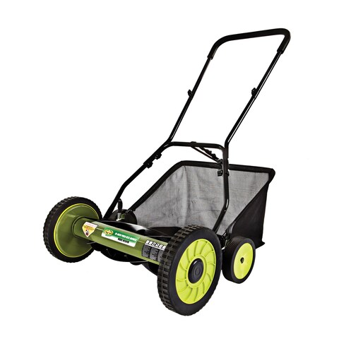 Sun Joe 'Mow Joe' 18-inch Manual Reel Mower with Grass Catcher