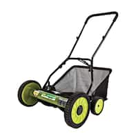 Sun Joe 'Mow Joe' 18-inch Manual Reel Mower with Grass Catcher