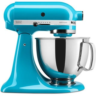 KitchenAid KSM150PSCL Crystal Blue 5-quart Artisan Tilt-Head Stand Mixer with $50 Rebate