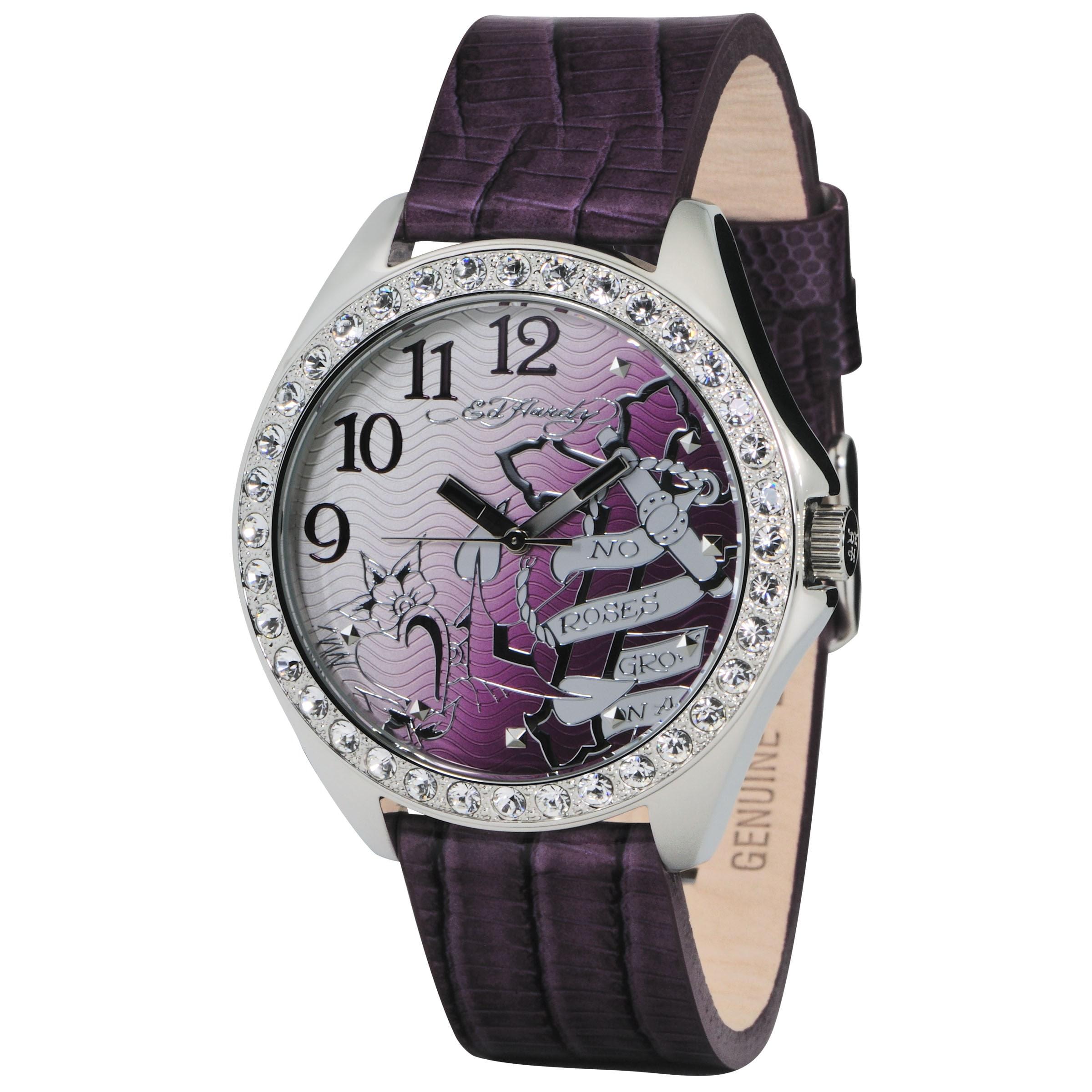 Ed Hardy Women's Starlet Cross Watch