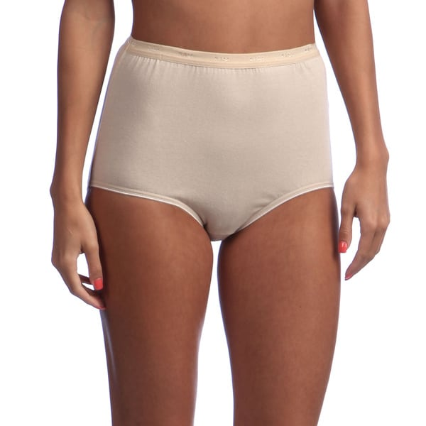 050d972c3edd Shop Hanes Women's Full-Cut-Fit Stretch Cotton Brief - On Sale ...