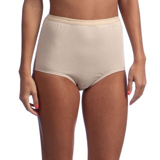 Hanes Women's Full-Cut-Fit Stretch Cotton Brief (More options available)