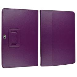 Purple Case/ Wrap/ Headset For Samsung Galaxy Tab P7500 10.1-inch - Thumbnail 2