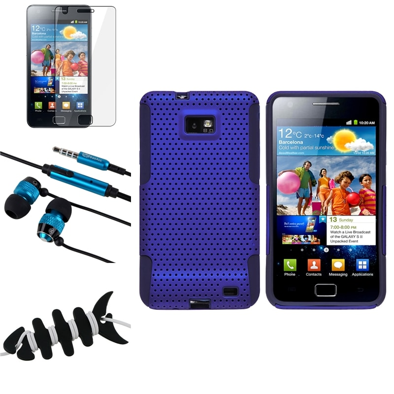 BasAcc Case/ Protector/ Headset/ Wrap for Samsung Galaxy S II i9100 - Thumbnail 0