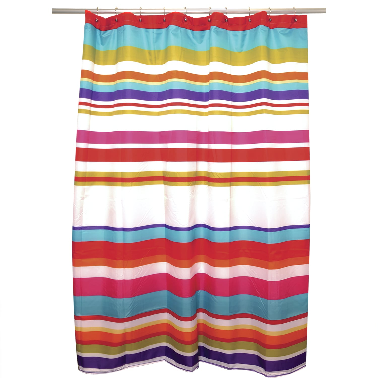 Candy Stripe Shower Curtain