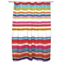 Candy Stripe Shower Curtain