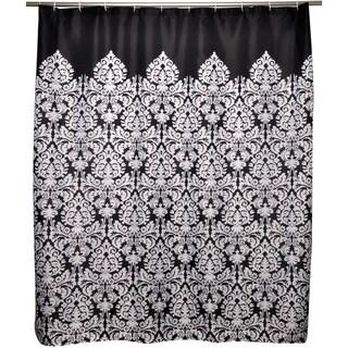 Essence Black Shower Curtain