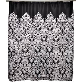 Glamorous Black Toile Shower Curtain Contemporary - Best Ideas ...