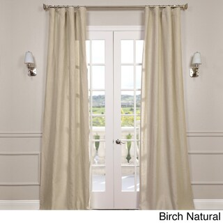 Exclusive Fabrics Signature French Linen Curtain Panel (More options available)