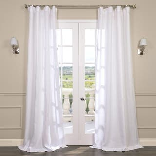 Exclusive Fabrics Signature French Linen Curtain Panel|https://ak1.ostkcdn.com/images/products/6828620/P14357932.jpg?impolicy=medium
