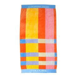Alexander Julian Block Stripe Beach Towel (Set of 2) - Thumbnail 1