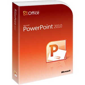 Microsoft PowerPoint 2010 - Complete Product - 1 PC - Academic