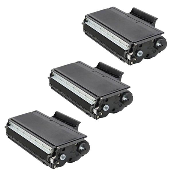 Brother TN650 Compatible Black Toner Cartridges (Set of 3)