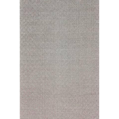nuLOOM Handmade Flatweave Diamond Cotton Area Rug