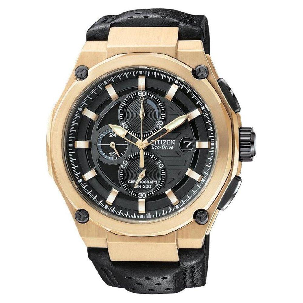 Citizen Men's Eco-Drive Sport Goldtone Watch