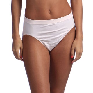 Link to Bali Comfort Revolution Microfiber Solid Hi-Cut Brief Similar Items in Intimates