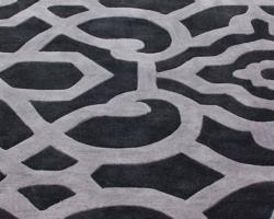 nuLOOM Handmade Pino Marrakesh Charcoal Rug (5' x 8') - Thumbnail 2