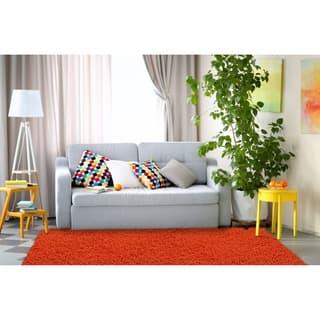 Hand-woven Shagadelic Orange Chenille Rug (4' x 6')|https://ak1.ostkcdn.com/images/products/6830601/P14359636.jpg?impolicy=medium
