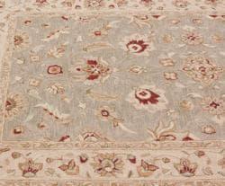nuLOOM Handspun Decorative Persian Grey New Zealand Wool Rug (5' x 8') - Thumbnail 2