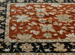 nuLOOM Handspun Decorative Persian Red New Zealand Wool Rug (6' x 9')