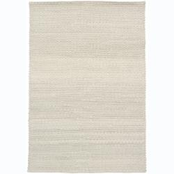 Artist's Loom Hand-woven Contemporary Abstract Wool Rug (5'x7'6) - Thumbnail 0