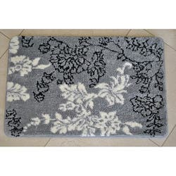 Memory Foam Grey White Fl 20 X 32 Bath Mat